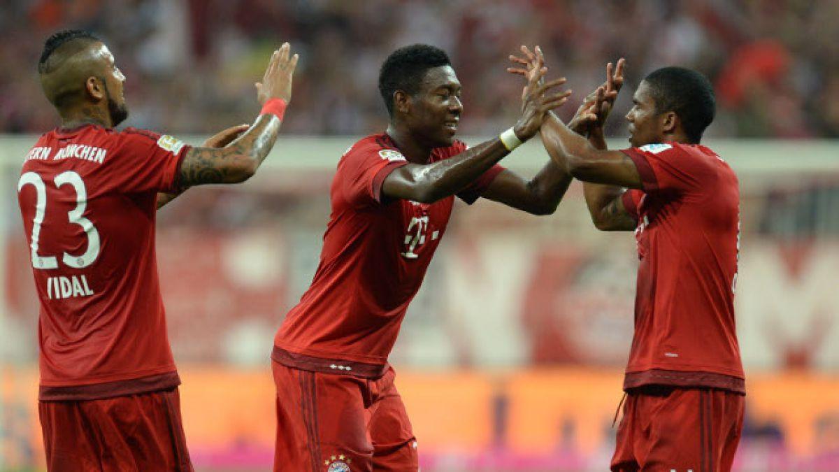 [MINUTO A MINUTO] Bayern Munich está goleando a Hamburgo por la Bundesliga