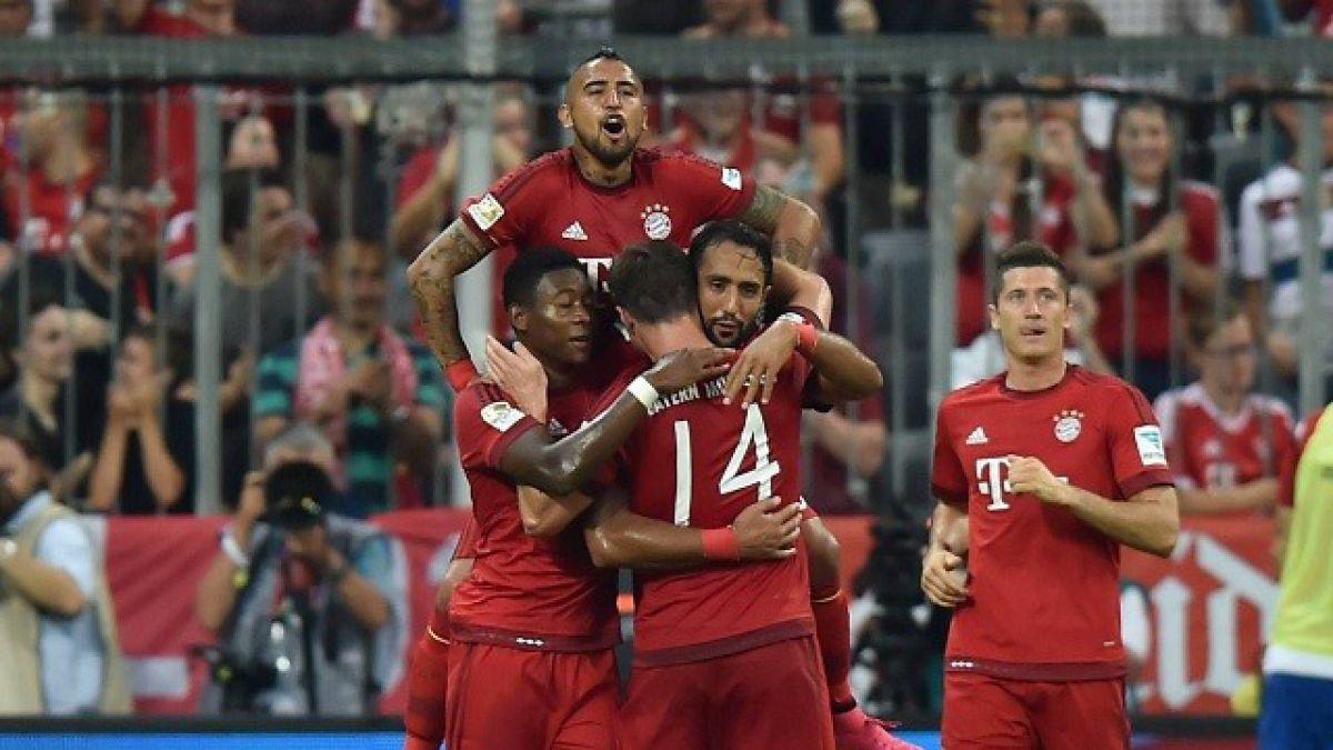 Bayern Munich de Vidal humilla con un 5-0 al Hamburgo de Díaz por la Bundesliga