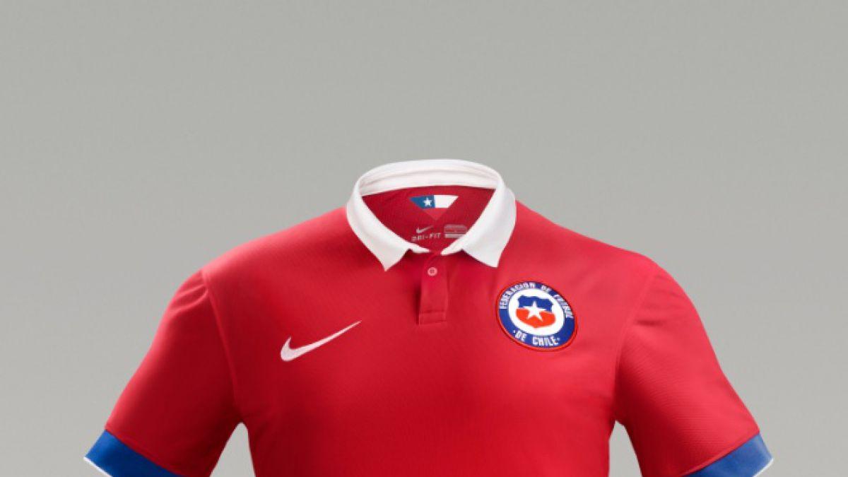 La nueva camiseta de la Selección Chilena ya está a la venta