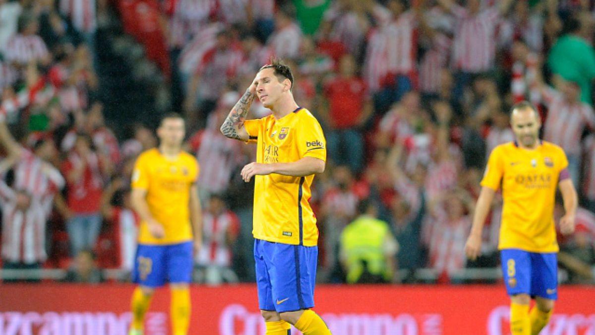 FC Barcelona sufre dura goleada ante Athletic Bilbao por la Supercopa de España