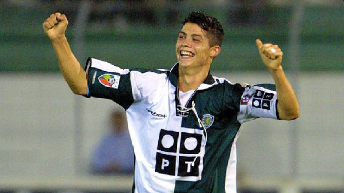 Sporting de Lisboa recordó los 13 años del debut de Cristiano Ronaldo