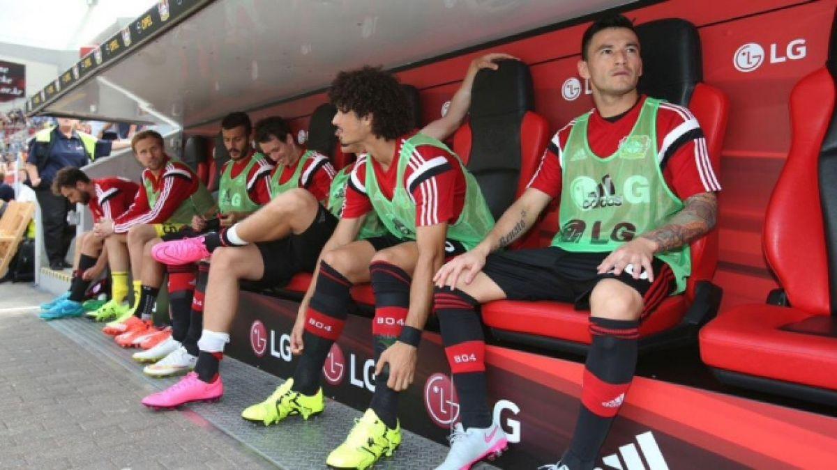 Aránguiz vio desde el banco luchado triunfo del Bayer Leverkusen en Alemania
