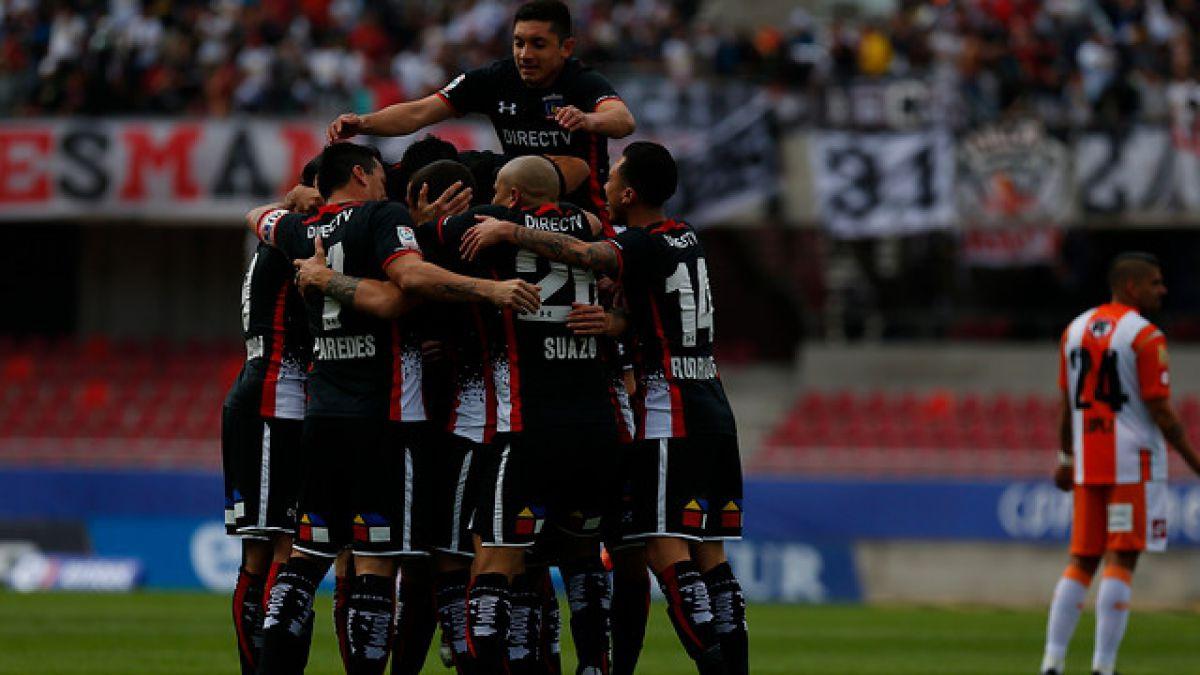 Colo Colo vence al actual campeón Cobresal y se mantiene líder del Torneo de Apertura
