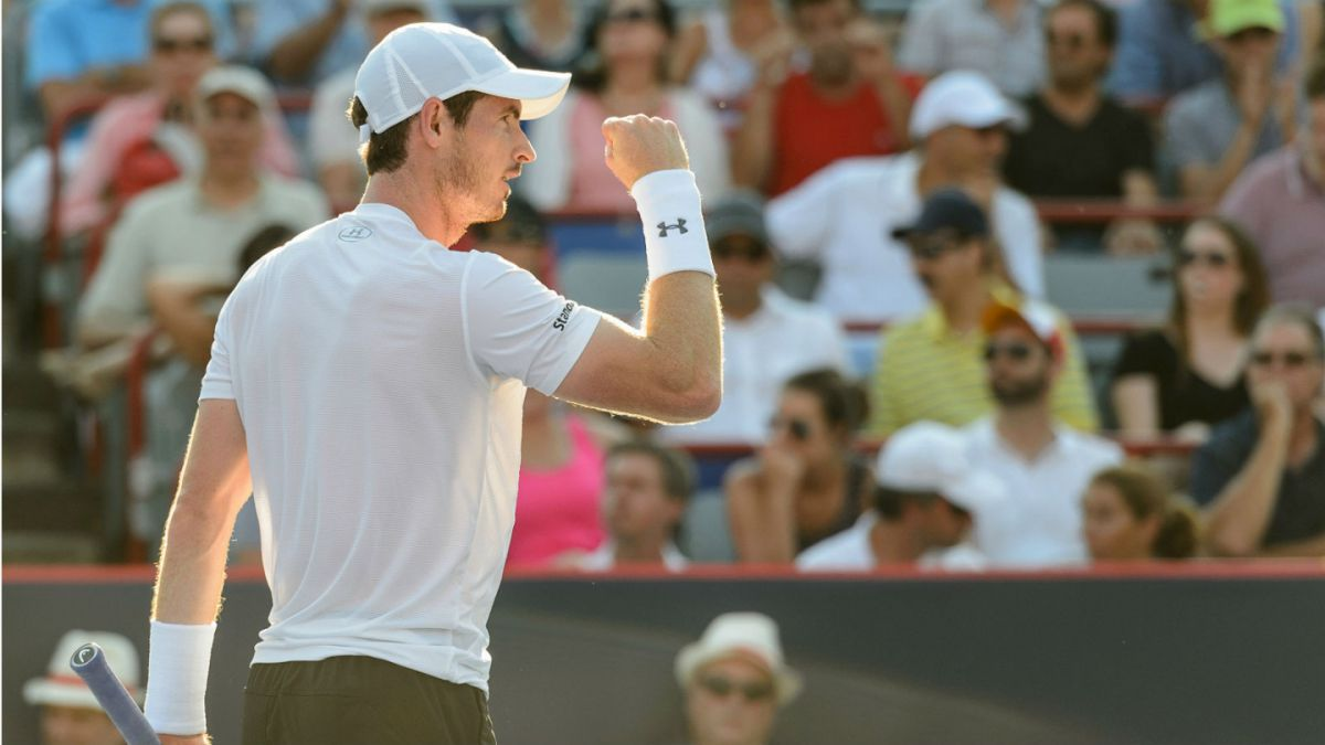 Murray impide nuevo título de Djokovic y se queda con el Masters 1000 de Montreal