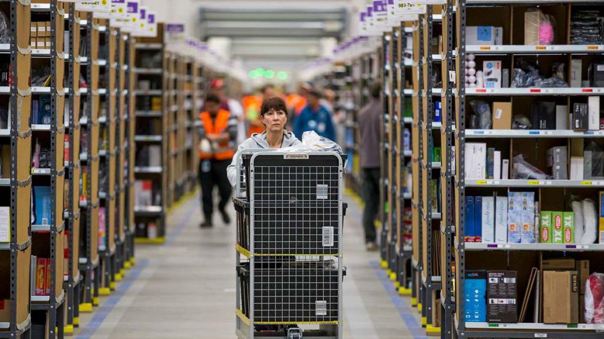 Amazon es blanco de críticas por sus condiciones de trabajo