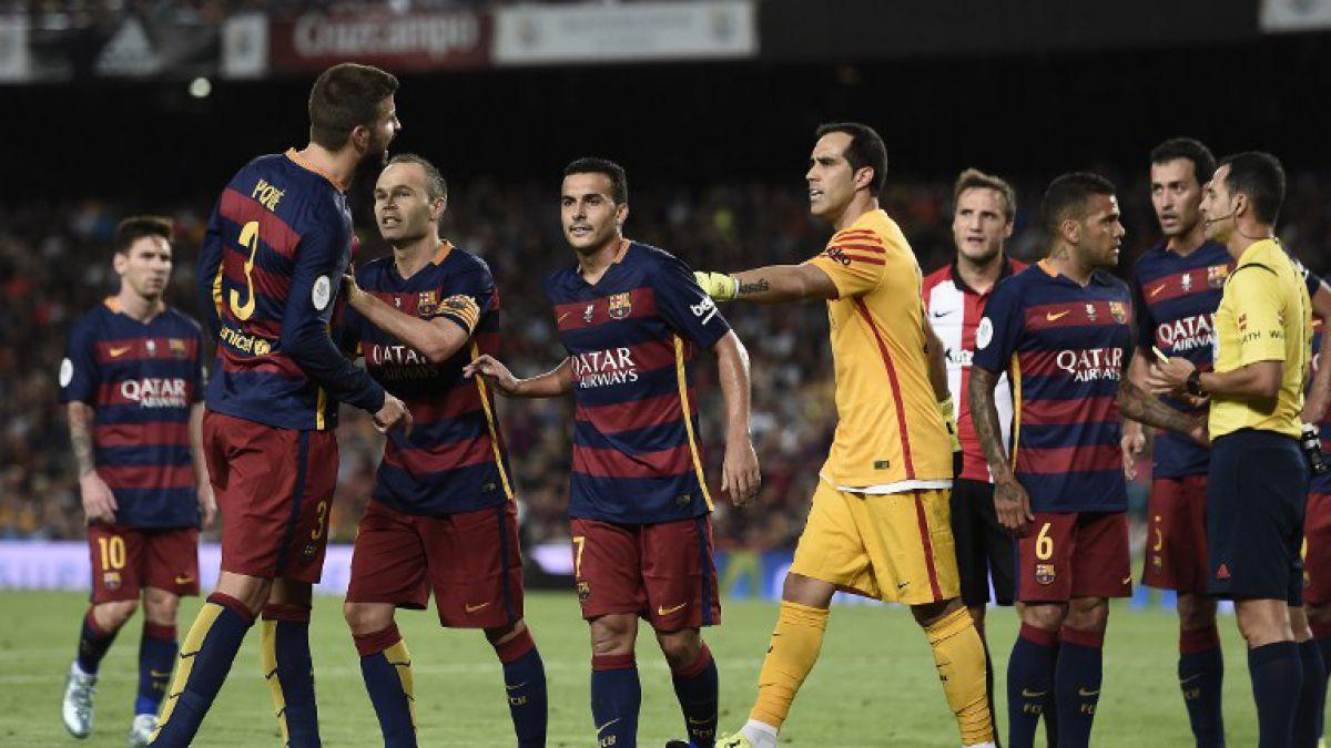 Barcelona con retorno de Bravo no logra hazaña y Athletic es campeón de Supercopa