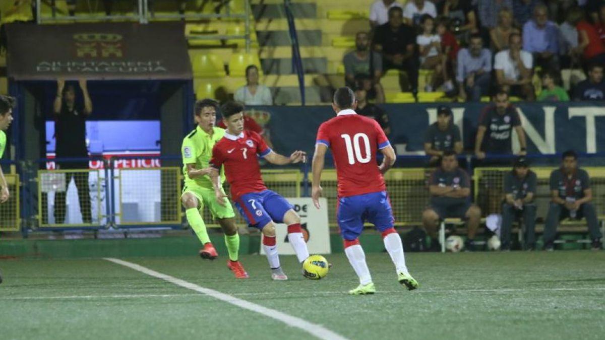 Chile Sub 20 vence a Levante y clasifica a final del Torneo de Alcudia