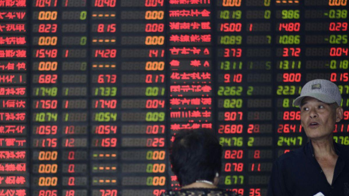 Las bolsas caen en Asia, preocupadas por la economía china y Tailandia