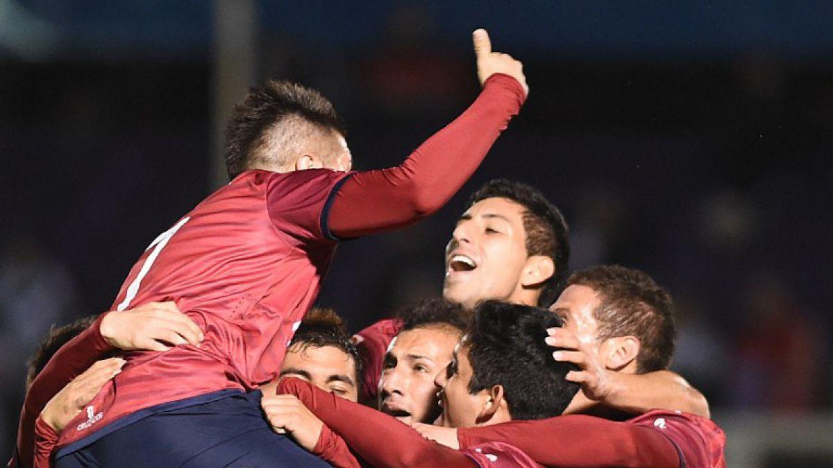 La UC da el golpe ante Danubio en Uruguay y clasifica en Copa Sudamericana