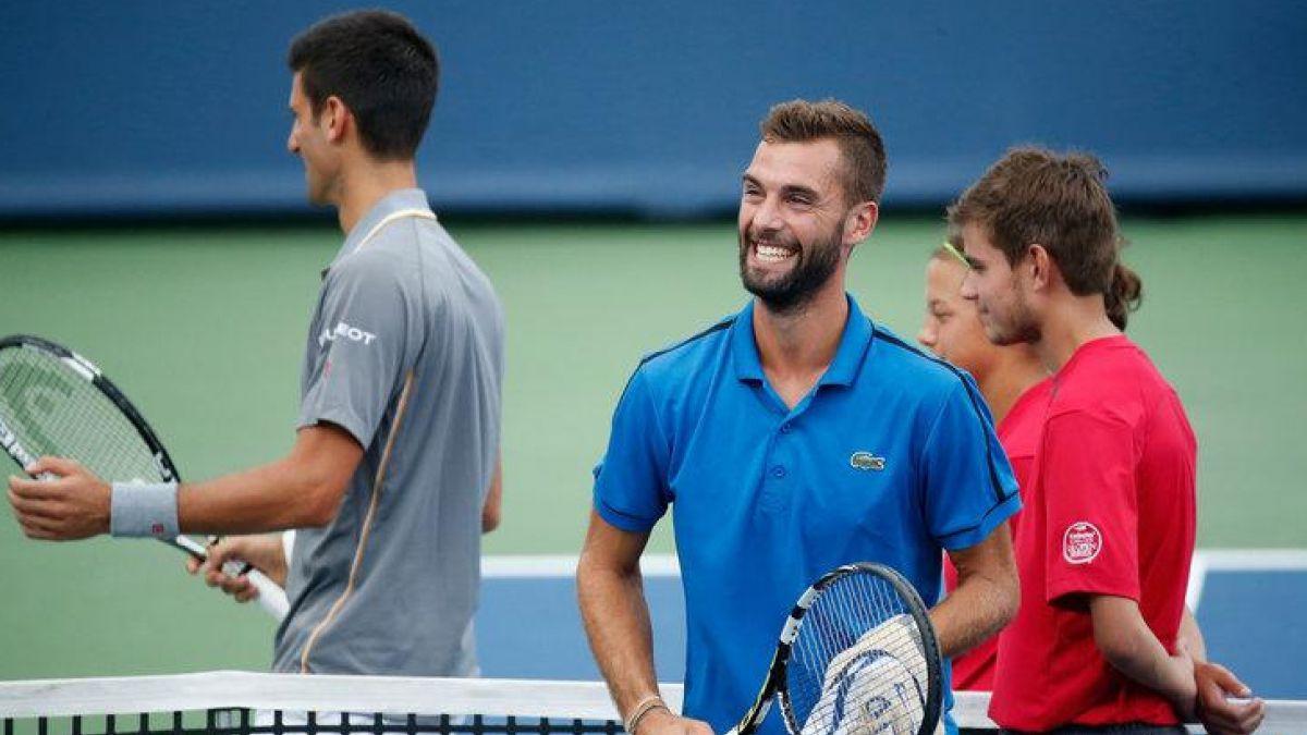 El extraordinario punto de un francés para sorprender a Novak Djokovic