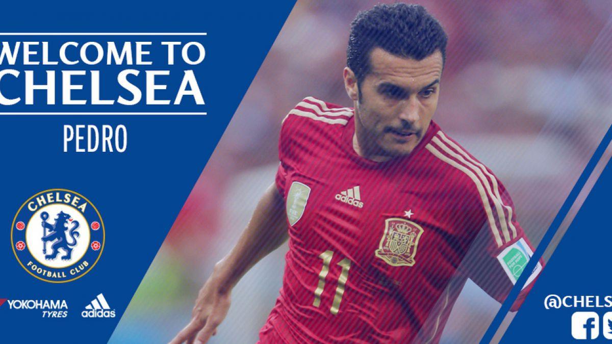 Chelsea anuncia el fichaje de Pedro Rodríguez desde Barcelona