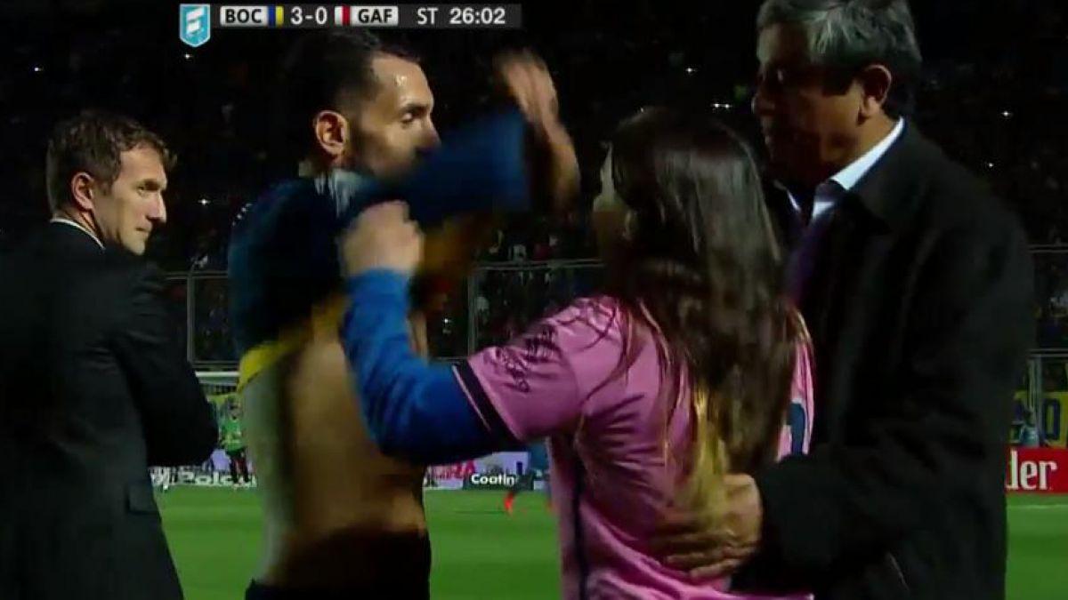 El gesto de Carlos Tévez que refleja su condición de ídolo en Boca Juniors