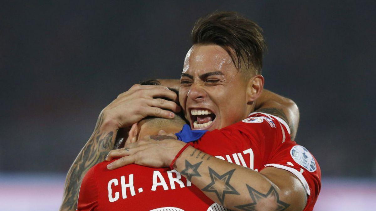 Jugadores de la Roja entregan su apoyo a Charles Aranguiz tras grave lesión