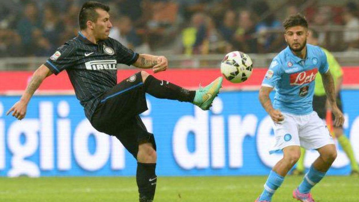 Técnico de Inter de Milán: Si tuviéramos 11 jugadores como Medel, ganaríamos todos los partidos