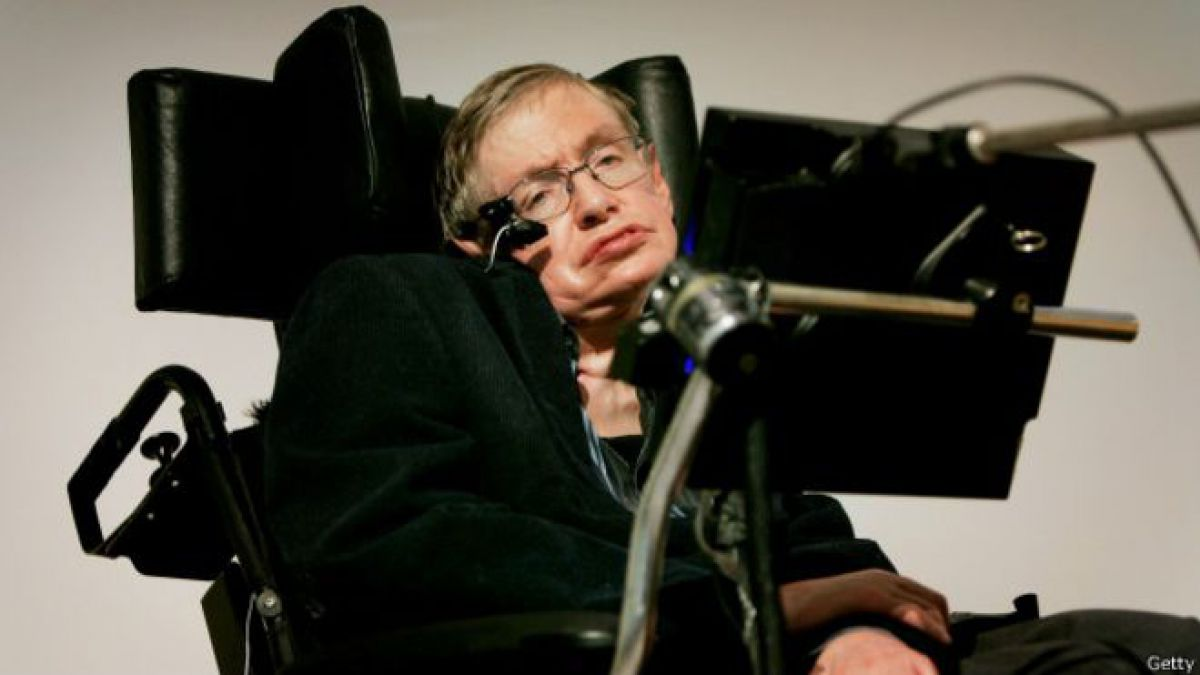 Stephen Hawking llevaba 20 años con el viejo sistema.