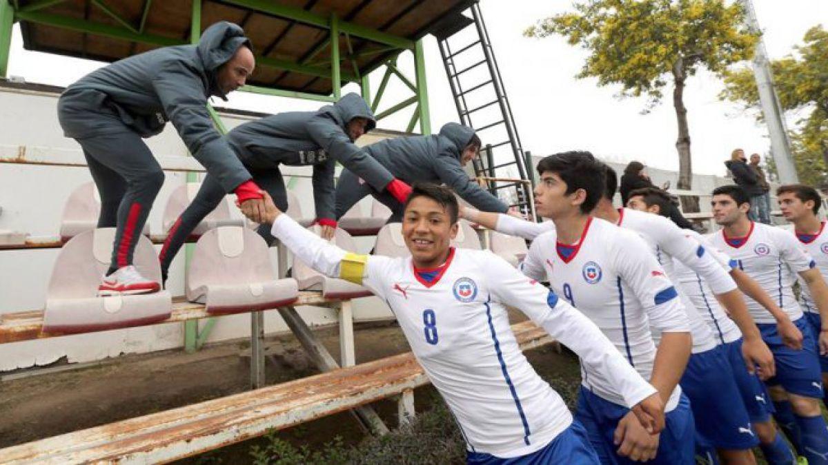 Jorge Sampaoli asistió al triunfo amistoso de la selección chilena Sub 17