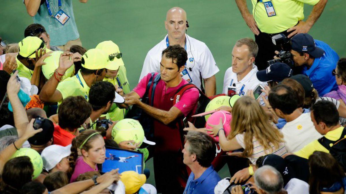Federer imparable: Ya está en semis de Cincinnati y chocará ante Murray