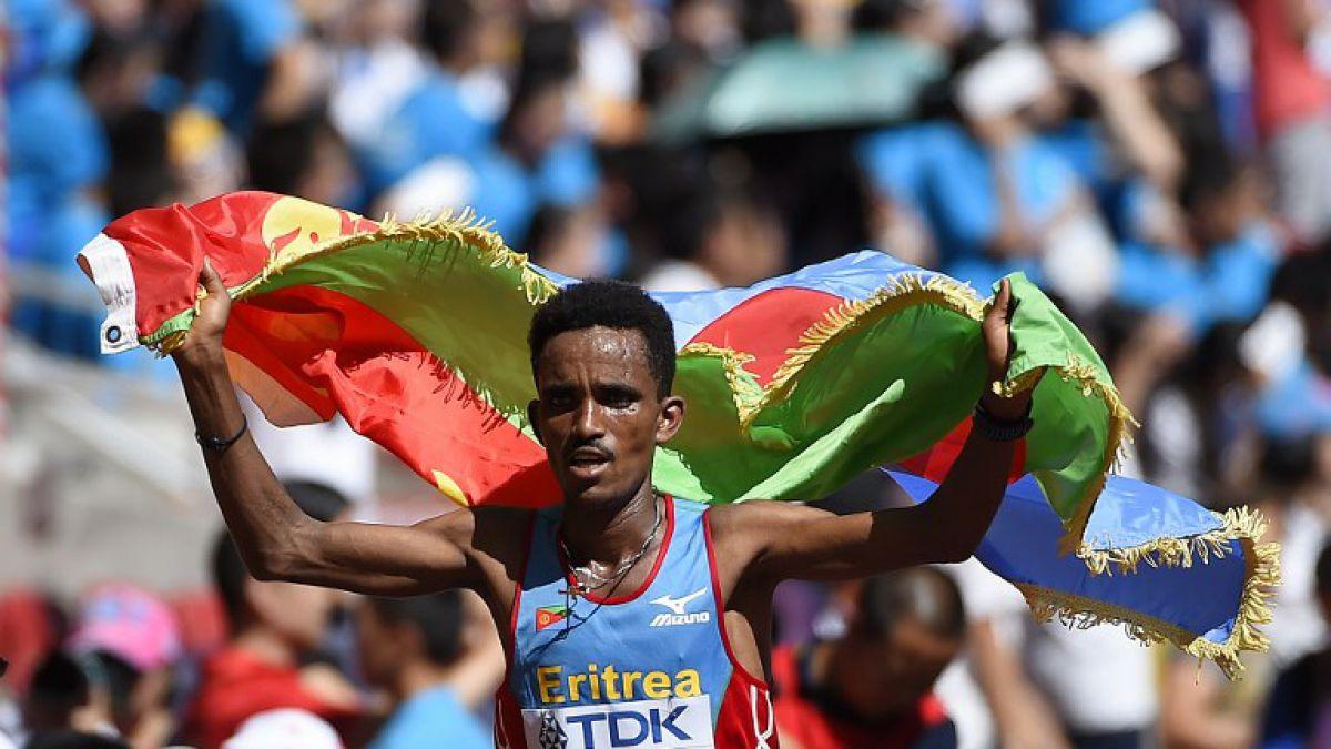Eritreo Ghebreslassie de 19 años gana maratón del Mundial de Beijing