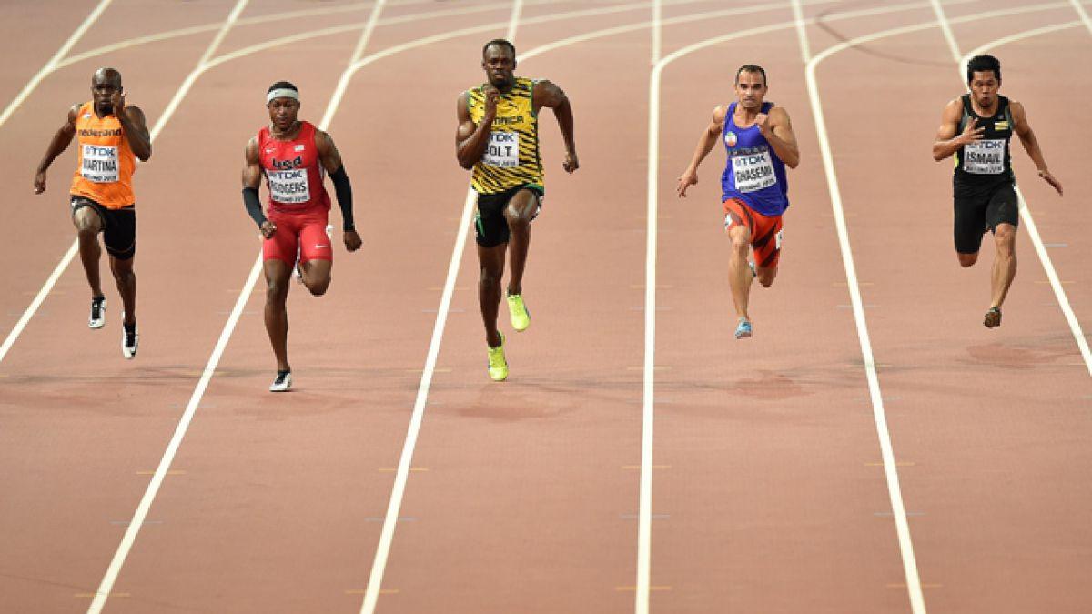 Bolt y Gatlin superan primer asalto del duelo estelar de Beijing 2015