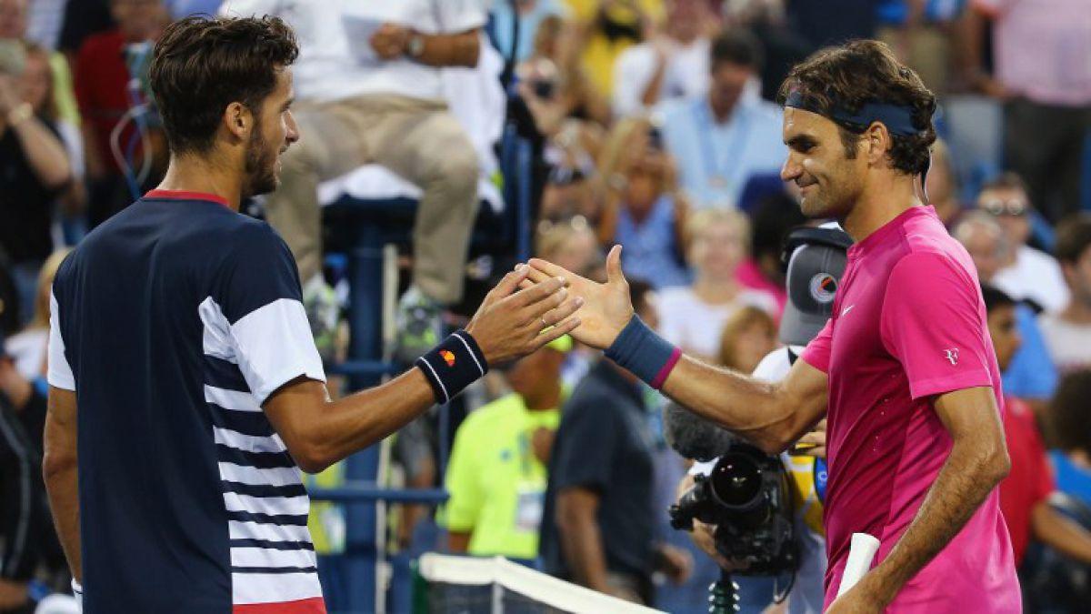 [VIDEO] Así fue el llamativo diálogo en la red entre Roger Federer y Feliciano López