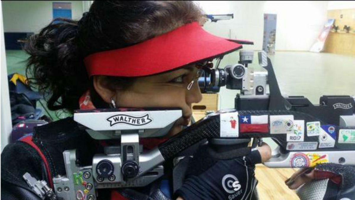Nuevo récord del deporte nacional: Karina Vera rompe registro en especialidad de rifle de aire