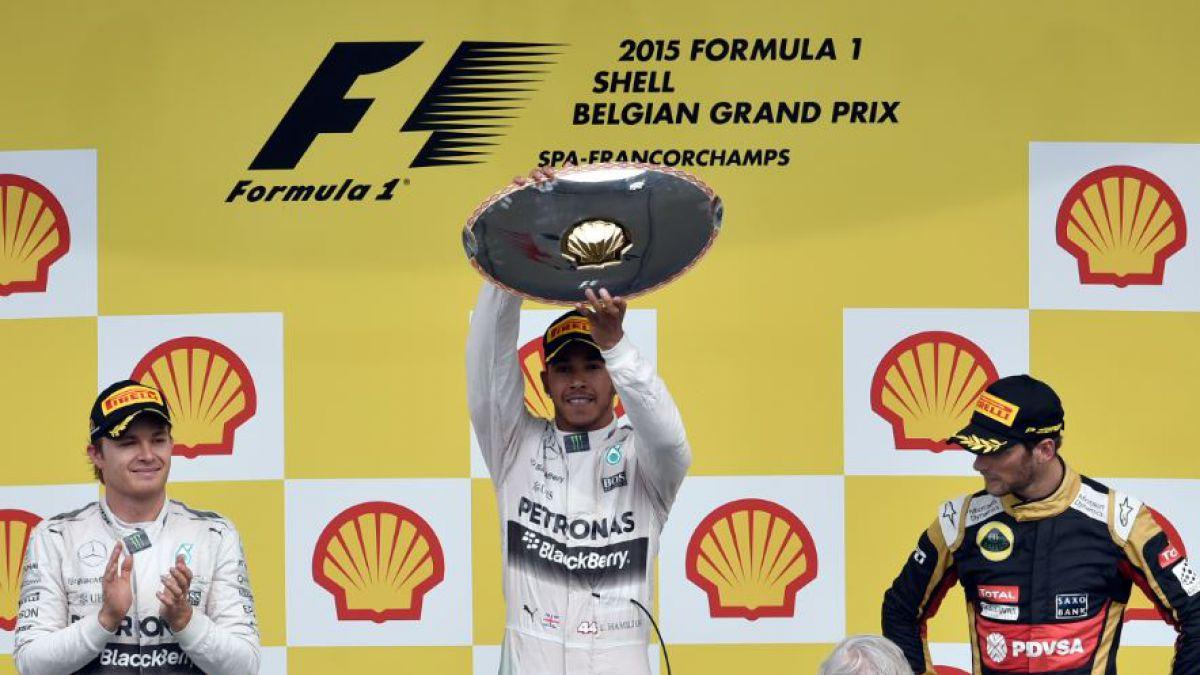El británico Lewis Hamilton gana el GP de Bélgica de Fórmula 1