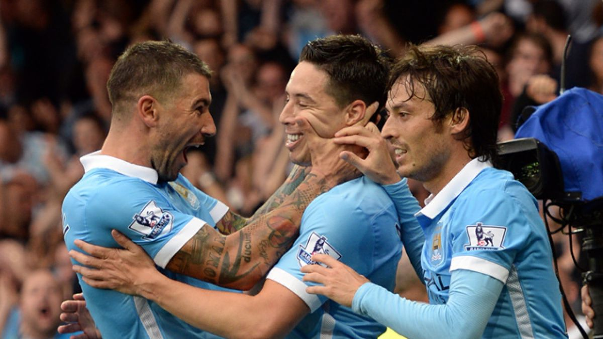 El City de Pellegrini vence a Everton y sigue firme en la cima de la Premier