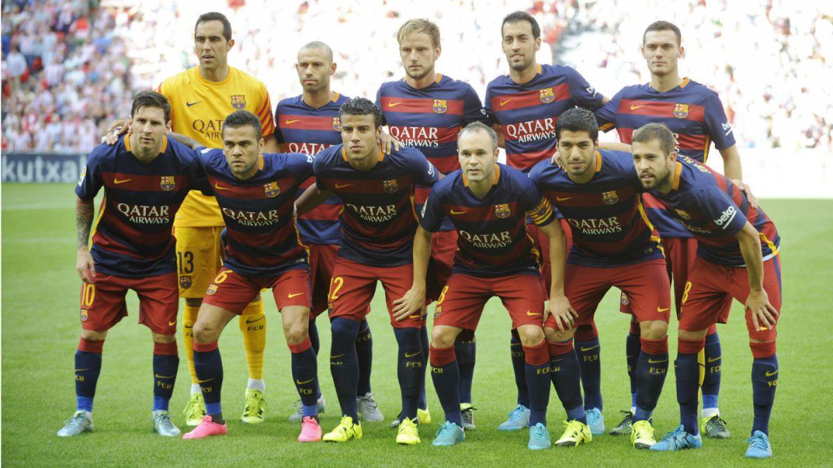 Así festeja Bravo la victoria de Barcelona en su debut en la Liga española