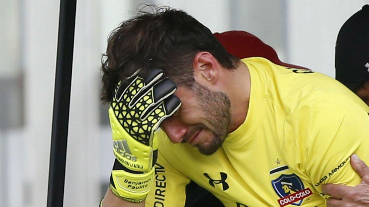Malas noticias para Colo Colo: Paulo Garcés se ausentaría por el resto del campeonato