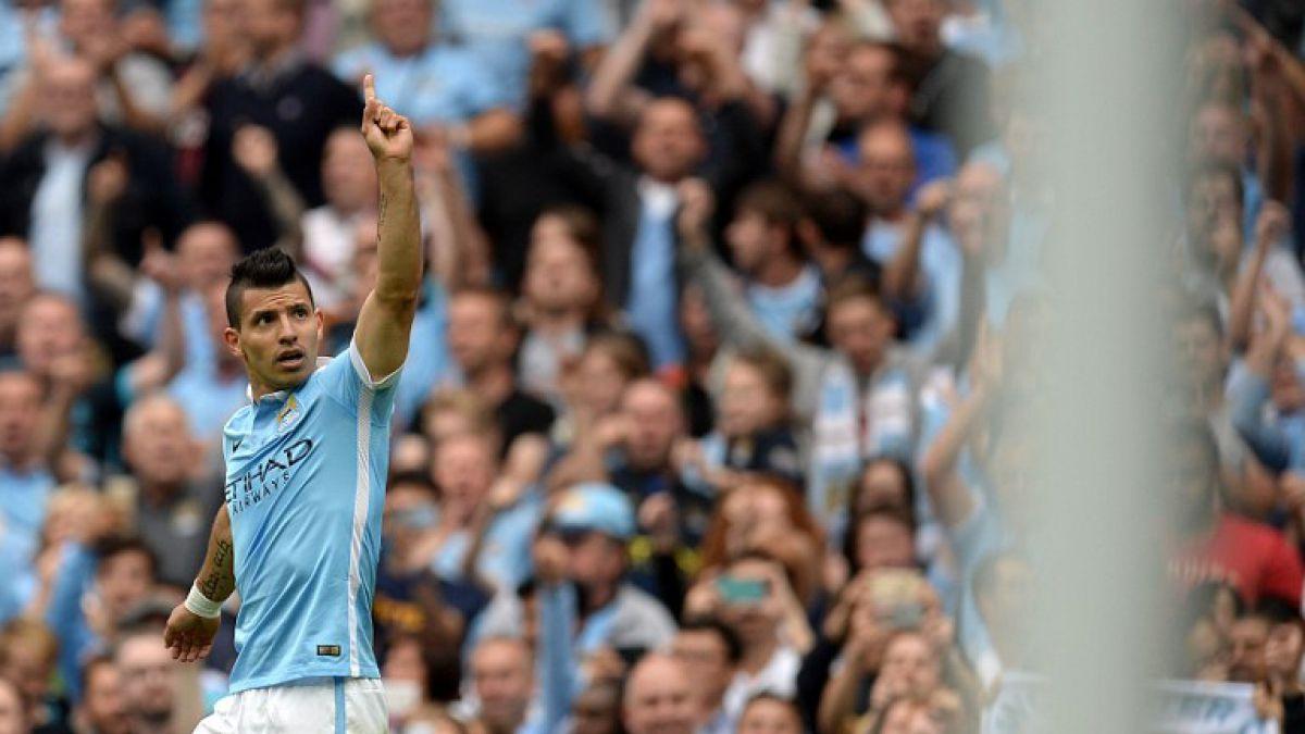 Sergio Agüero pidió parar choque City-Everton para ayudar a hincha