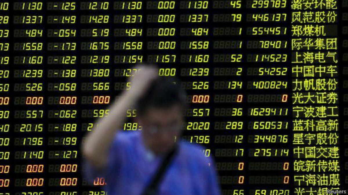 La bolsa de Shanghái cierra con una caída de 1,27% pese a recorte de tasas chinas