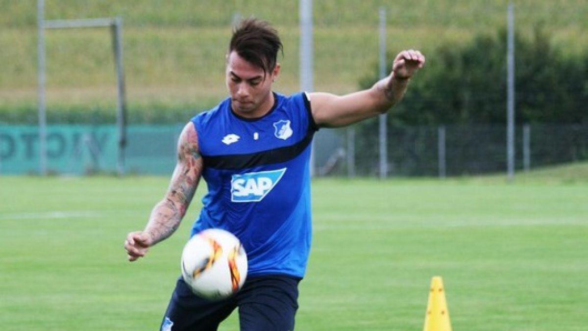 Eduardo Vargas en Hoffenheim: Espero repetir lo que hice en Copa América