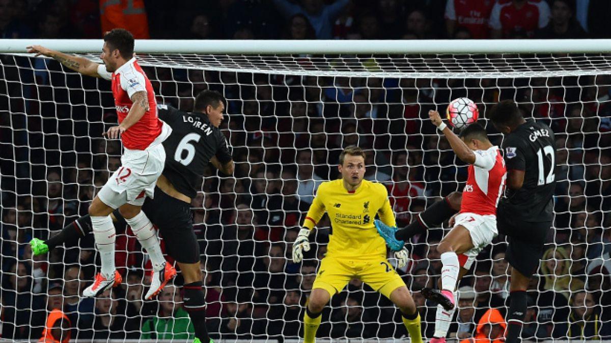 [MINUTO A MINUTO] Arsenal FC con Alexis titular está igualando ante Liverpool
