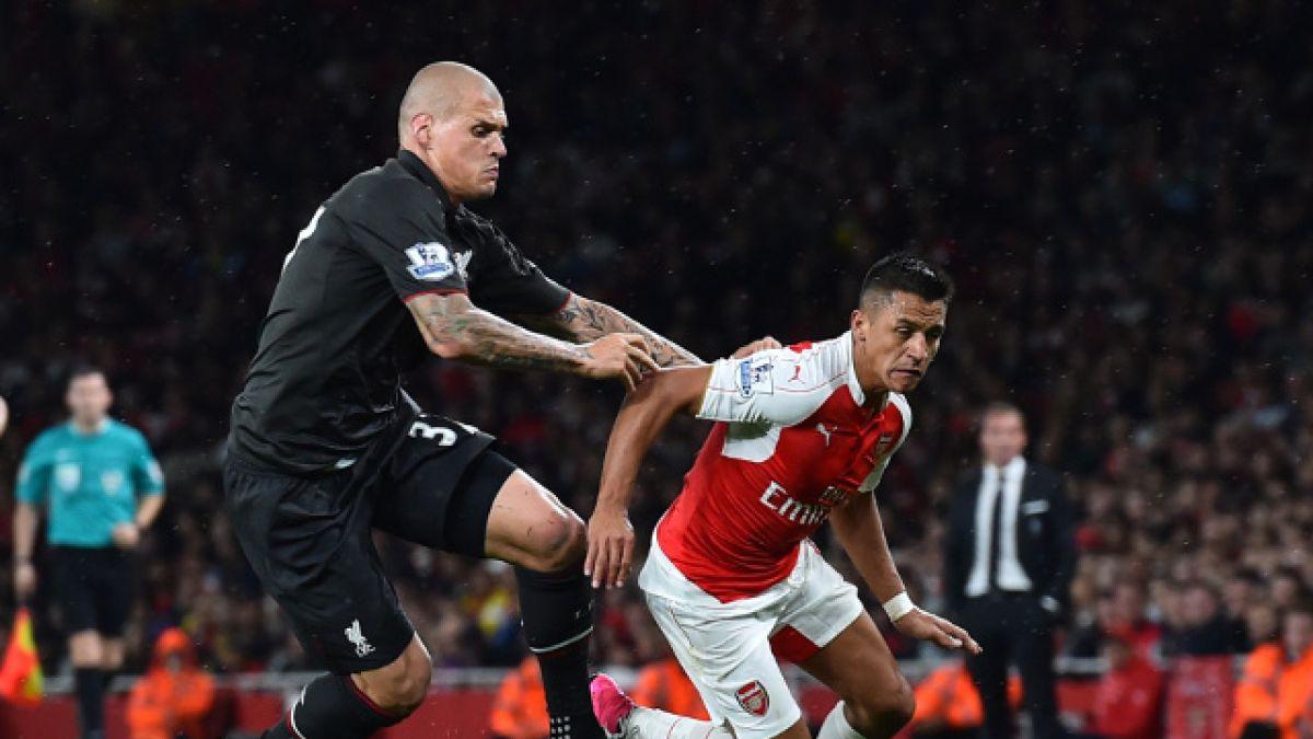 Arsenal FC con Alexis en cancha sólo igualó ante Liverpool en casa