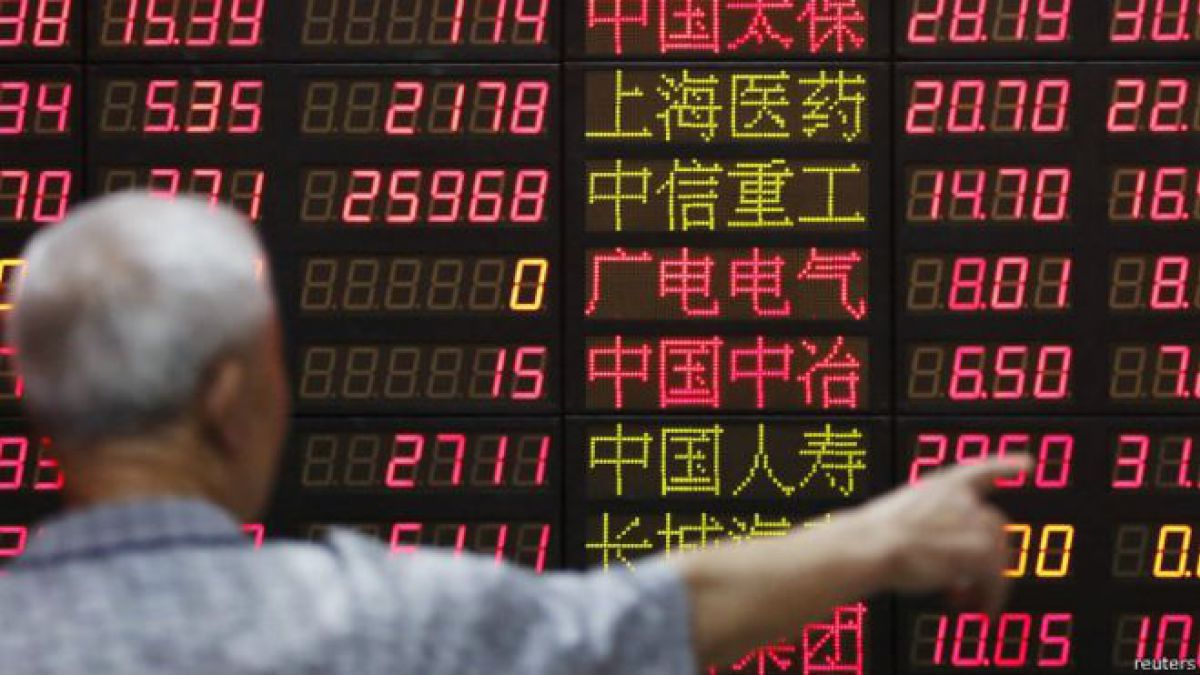 La bolsa de Shanghai se dispara 5,34% al cierre, en sintonía con Wall Street