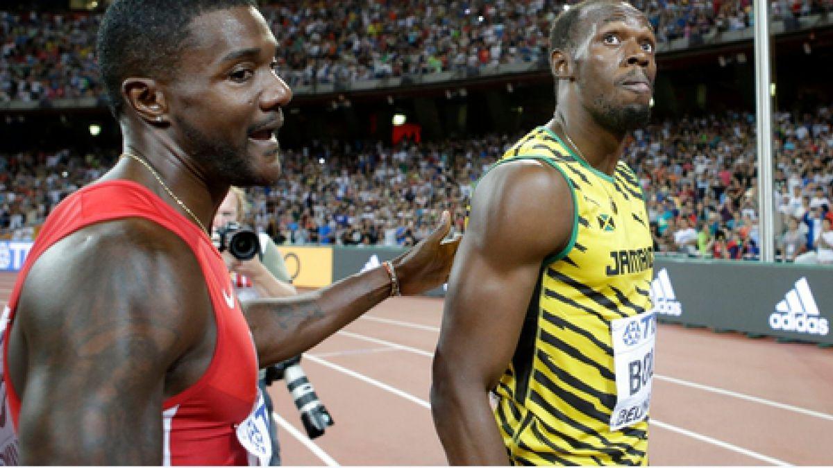 Usain Bolt y Justin Gatlin clasifican a semis de los 200 metros en Beijing