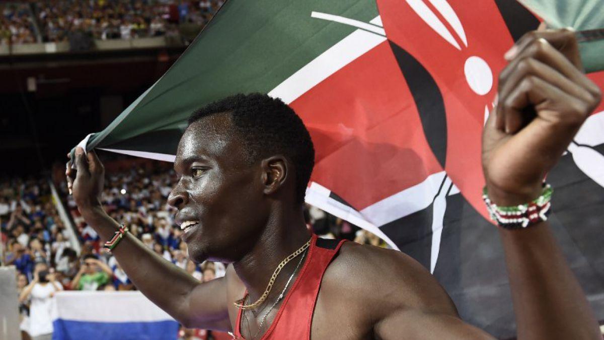 Bett ofrece a Kenia primer título mundial de 400 metros vallas de la historia