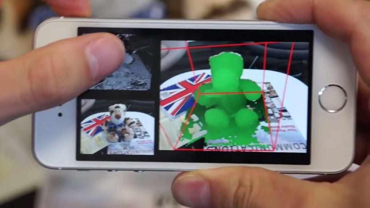 Ahora cualquier celular podrá convertirse en un escáner 3D