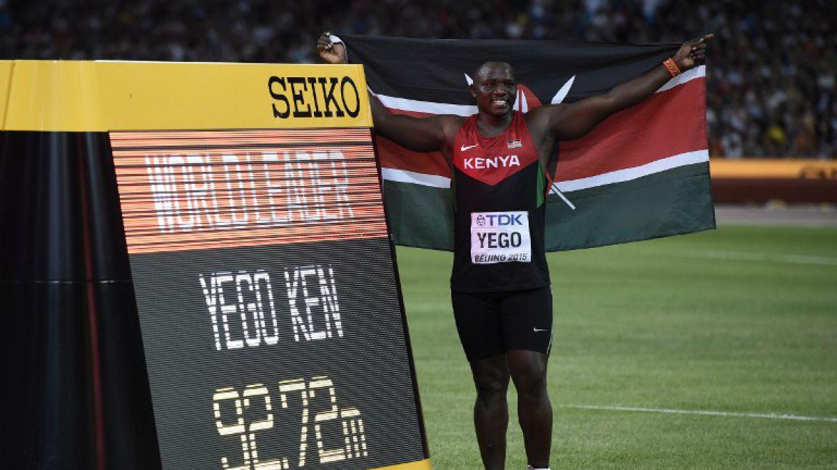 Julius Yego hace historia en Beijing: Gana oro para Kenia en jabalina