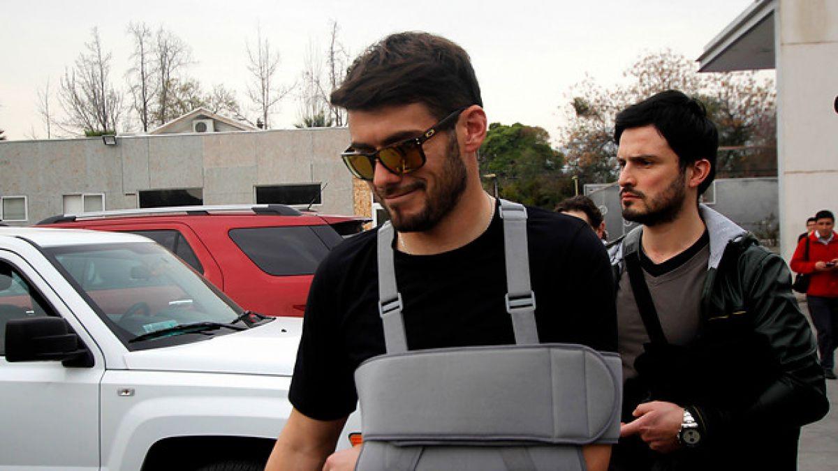 """Paulo Garcés tras operación al hombro: """"Resultó todo un éxito"""