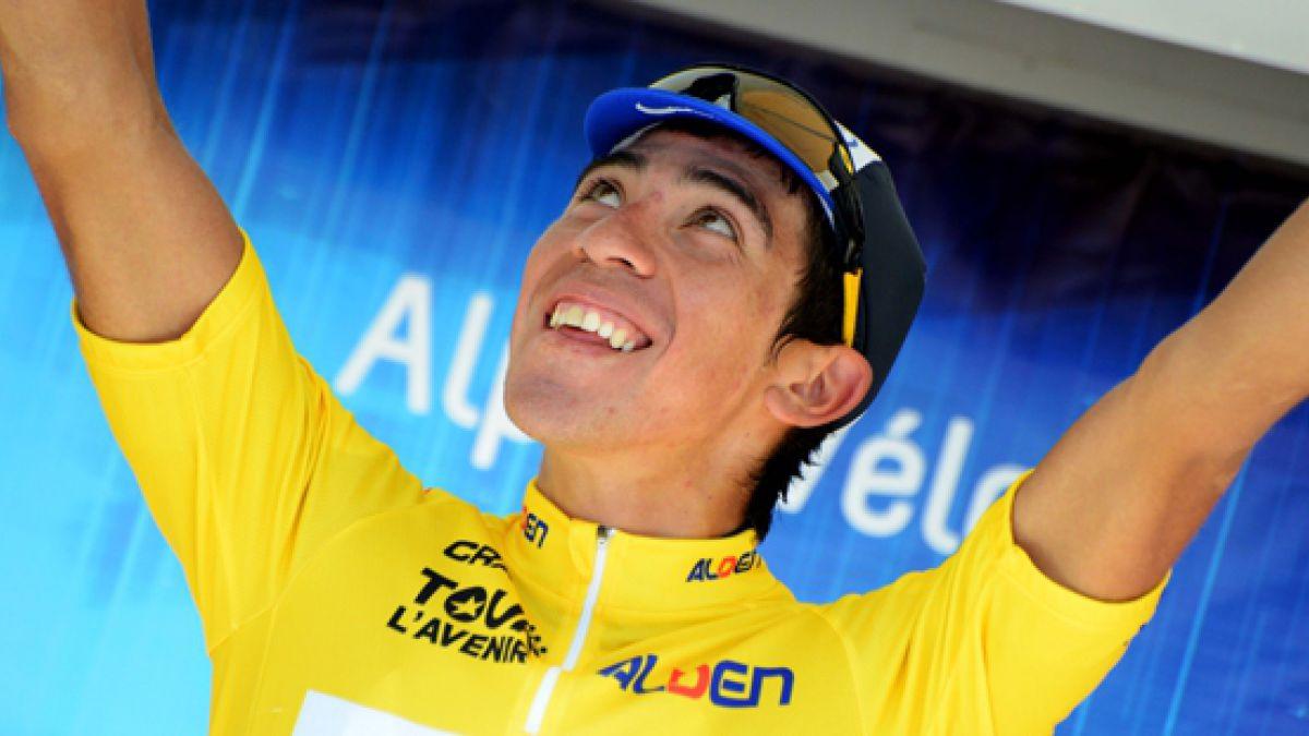 Ciclista chileno es líder en tradicional prueba del Tour de LAvenir
