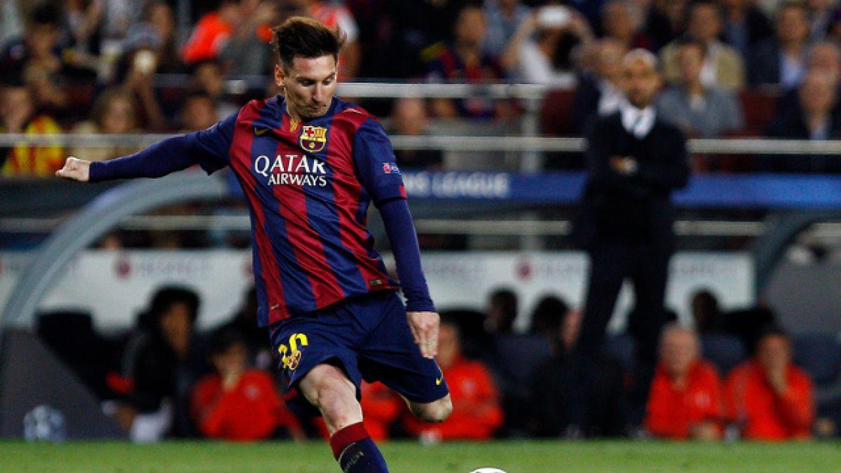 Lionel Messi se queda con el premio al mejor gol del año de la UEFA