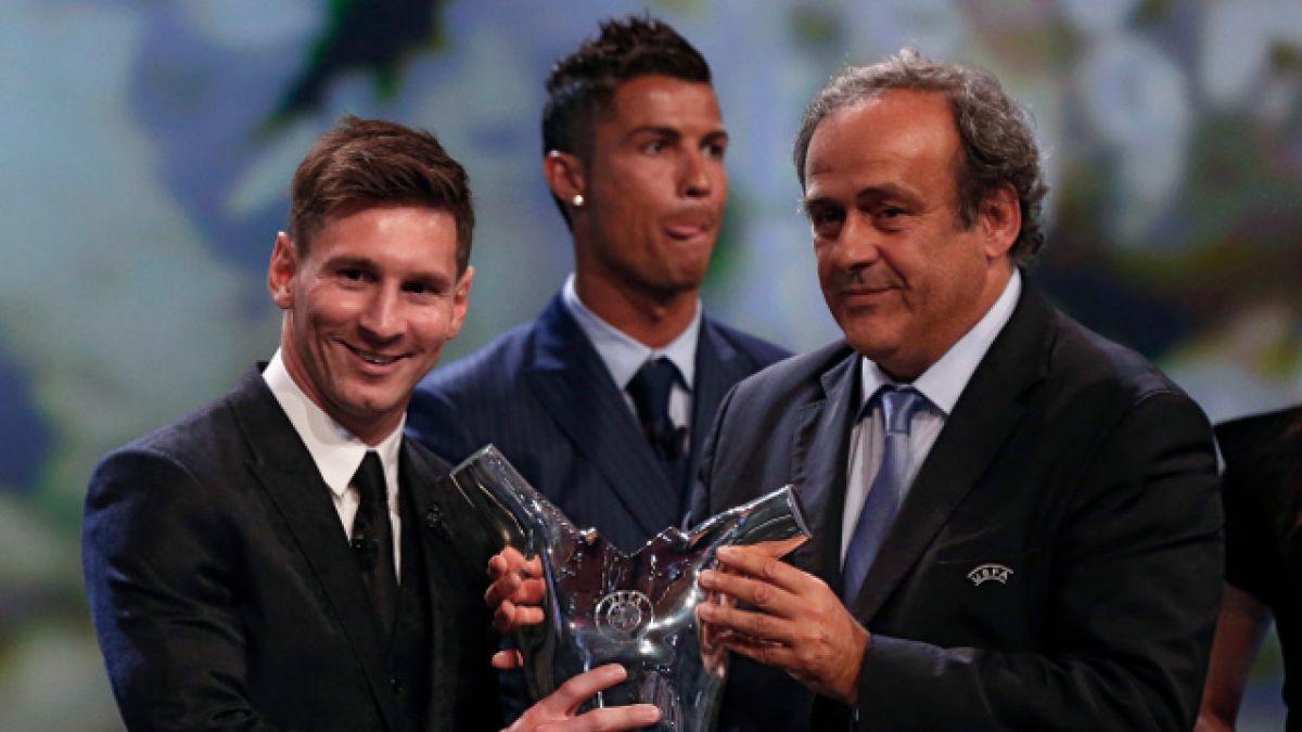 Lionel Messi es elegido mejor jugador de la UEFA 2014-2015
