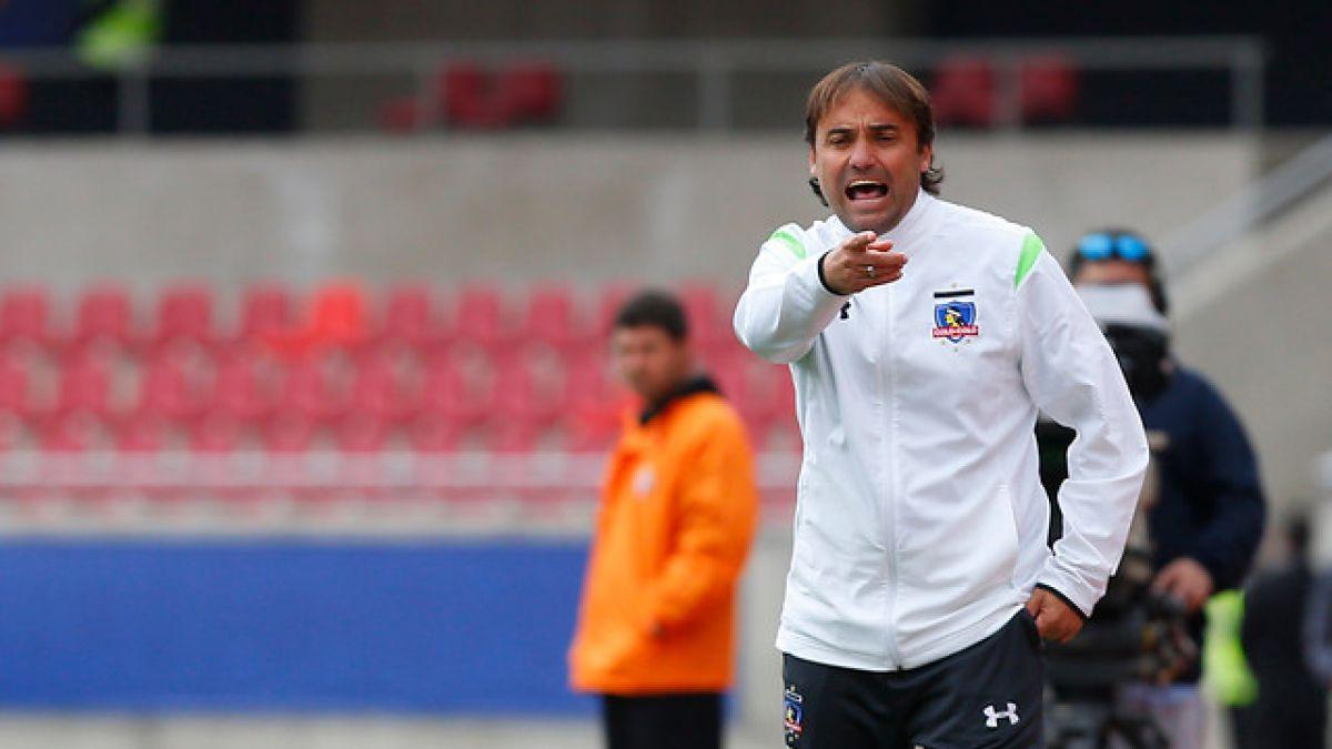 José Luis Sierra confirma que Colo Colo está buscando otro arquero tras lesión de Garcés