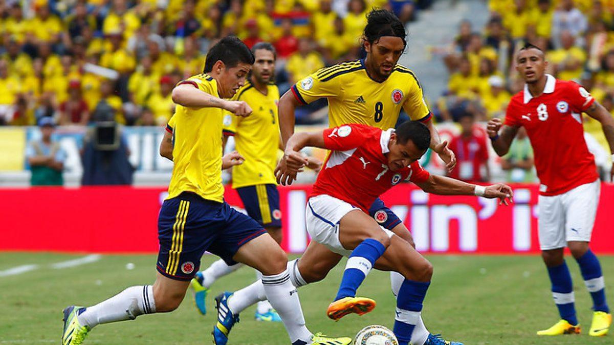 Selección Chilena recibirá el 12 de noviembre a Colombia por Clasificatorias