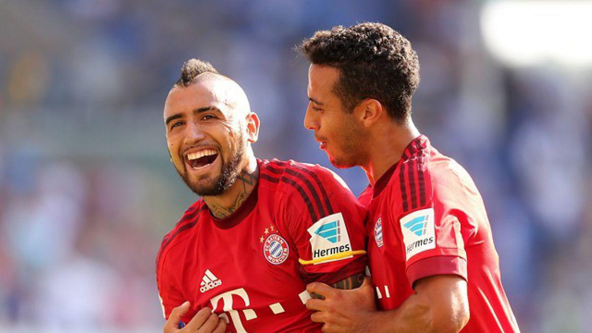 Arturo Vidal retorna a las sonrisas en Alemania: El Rey vuelve a ganar