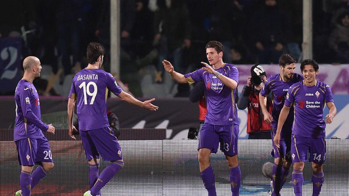 [GOL A GOL] Fiorentina de Matías Fernández vence a Atalanta en la Serie A