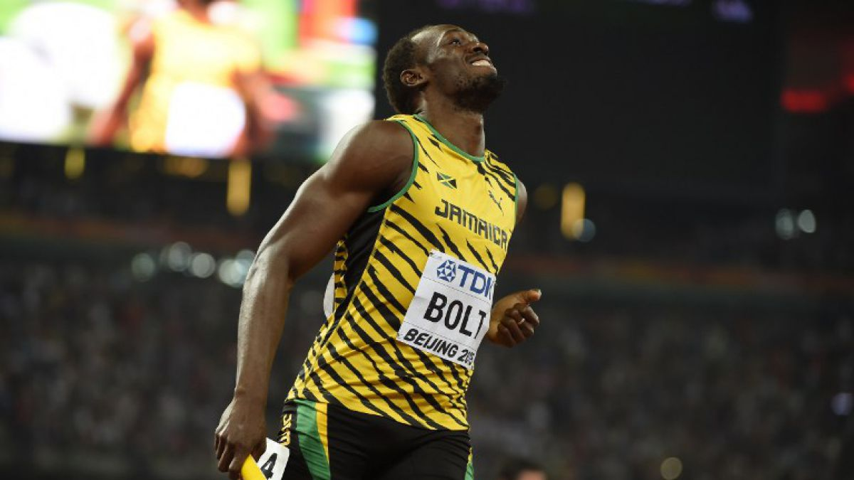 Usain Bolt anuncia que pone fin a la temporada 2015