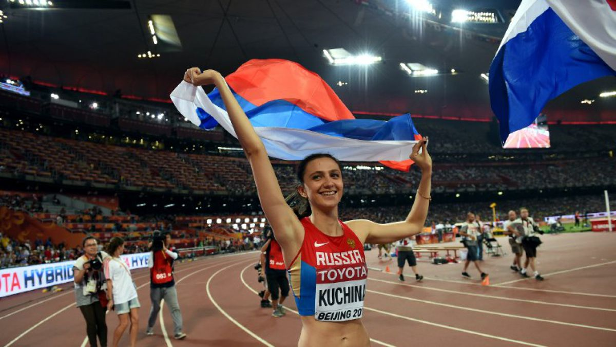 Kuchina es la nueva reina de la escuela rusa de salto de altura en Beijing