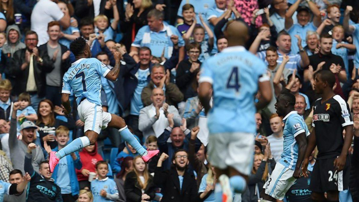 Pellegrini gana, es líder con el Manchester City y logra récord